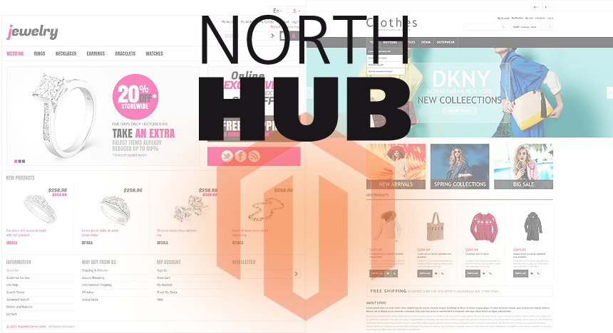 Magento od North HUBu